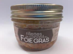 rillettes canard foie gras