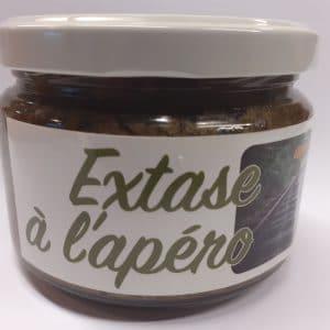 Tapenade extase apéro verte olives vertes