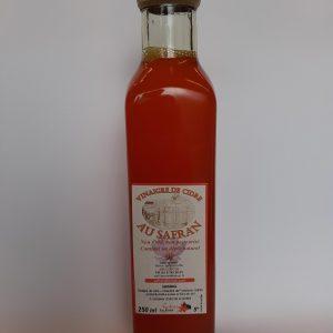 vinaigre de cidre safran