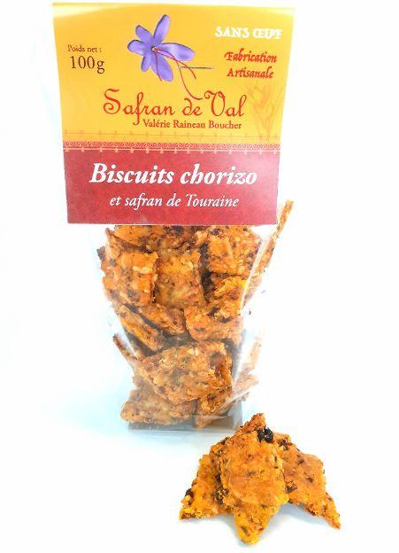 Biscuits chorizo au safran