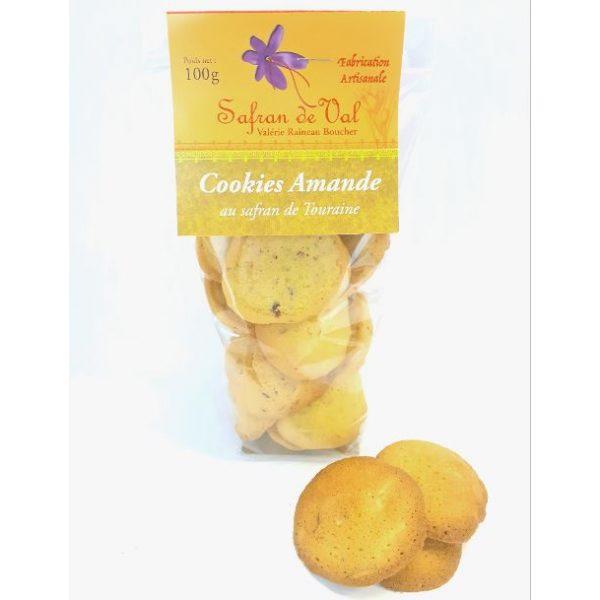 Cookies amande au safran