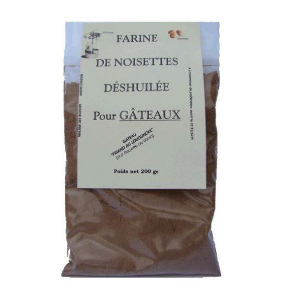 Farine de noisettes 200g