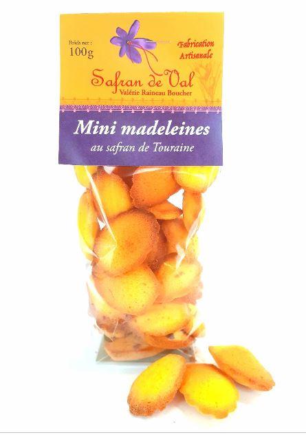 Mini madelaines au safran