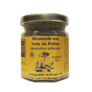 Moutarde aux noix du Poitou 100g