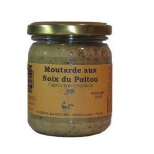 Moutarde aux noix du Poitou 200g