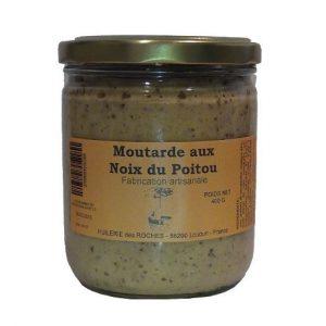 Moutarde aux noix du Poitou 400g