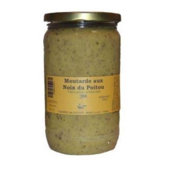 Moutarde aux noix du Poitou 700g