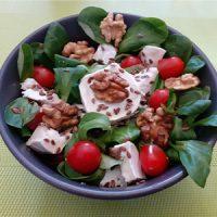 Salade mache noix sainte maure de touraine