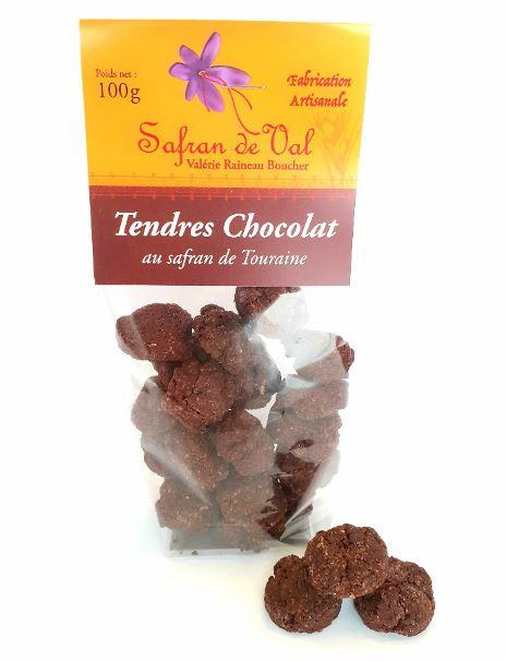 Tendre chocolat au safran